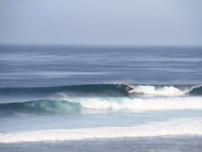 BOA surf spot on Rote Island
