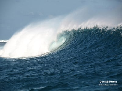 Besi Alu surf spot on Rote Island